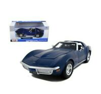 Chevrolet Corvette Stingray(1970)1:24 Scale  Special Edition Blue diecast-Maisto