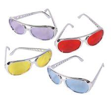 Assorted Rockstar Sunglasses (12 Pack) Party Novelty Sunglasses 1 Dozen