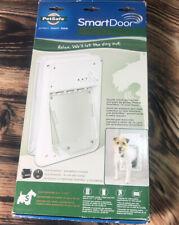 (New) PetSafe Small SmartDoor Electronic Dog Door, Small