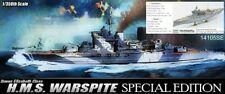 Warspite Academy 1/350 Special Edition + PE Satz, Holzdeck Metallteilen für Mast