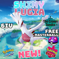 🔥SHINY LUGIA🔥6IV AVAILABLE NOW🔥Pokemon Sword and Shield🔥