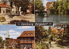 AK, Hamburg Bergedorf, vier Abb., um 1976