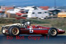 Chris Amon Ferrari 312/68 USA Grand Prix 1968 Photograph