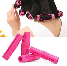6Pcs Magic Sponge Foam Cushion Hair Styling Rollers Curlers Twist Hairstyle Hot