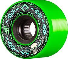 Powell Peralta Snakes 66mm Green Skateboard Cruiser Wheels