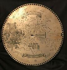 "Regina Music Box Disc ""I'll Be True to My Honey Boy Song"" Evans 15 1/2"" Metal"