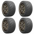 4 x 205/60/13 86V Toyo R888R Trackday/Race E Marked Tyres - 2056013