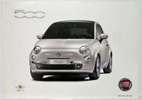 2008 Fiat 500 You are We car Sales Brochure - Swedish and English Text