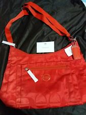 Brand New And Authentic Coach GETAWAY SIGNATURE PACKABLE CROSSBODYCOACH F77369