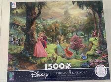 Thomas Kinkade Disney Sleeping Beauty  Jigsaw Puzzle 1500 piece Ceaco NEW!