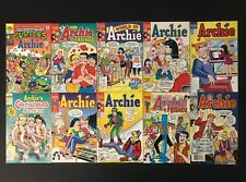 Lot of 10 Vintage 1990s Archie Comic Books