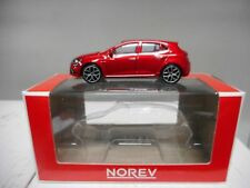 RENAULT MEGANE RED NOREV 3 INCHES