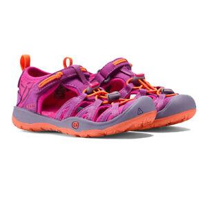 Keen Boys Moxie Kids Walking Shoes Sandals - Orange Purple Sports Outdoors