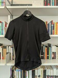 Rapha Men's Classic Jersey, Merino Wool, Size Small, Black