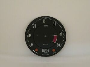 Tachometer Dial Face Plate New Smiths Brand Fits Bristol 407 & 408  RVI2810/00
