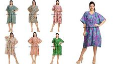 5 Indian Wholesale Caftan Casual Women Dress Beach Dress Kaftan Plus Night Wear
