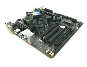GIGABYTE GA-B250M-D3H  i7-6700 @ 3.40GHz 4GB DDR4 Socket:1151 MISSING I/O SHIELD