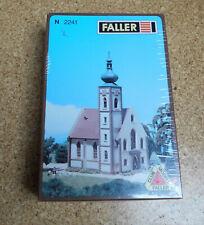 Faller Spur N 2241 große Dorfkirche Ungebaut / OVP