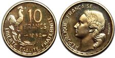 10 FRANCS G.GUIRAUD 1952  ESSAI PIEFORT G.182.EP