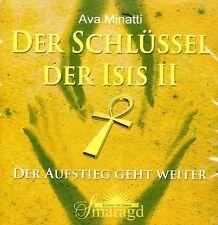 DER SCHLÜSSEL DER ISIS II - Meditations CD mit Ava Minatti - NEU OVP