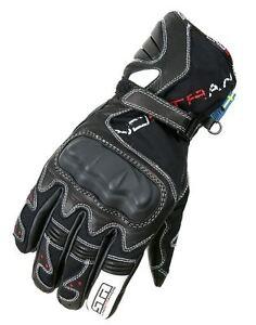 Lindstrands STR Flex Waterproof Sports Motorcycle Gloves Goatskin RRP £89.00