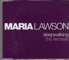 (CF282) Maria Lawson, Sleepwalking (remixes) - 2006 DJ CD