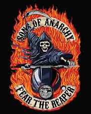 Sons of Anarchy Luxury Plush Throw Blanket -Fear of Reaper