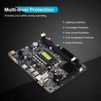 H61 motherboard LGA 1155 supports DDR3 Fast Ethernet 4 USB2.0 HDMI VGA PCI-E X1