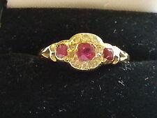 Ruby Vintage Fine Rings