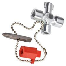 KNIPEX 001102 - Schaltschrank-Schlüssel kurze Ausführung - 44 mm