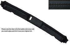BLACK Stitch TOP TETTO APRIBILE pelle copertura Adatta per BMW E30 3 SERIES 84-93 CONVERTIBILE