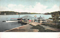 Lake Quinsiamond, Worcester, Massachusetts, Early Postcard, Unused
