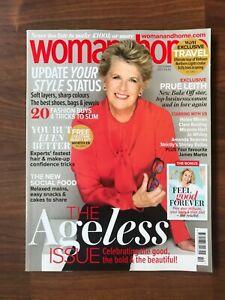 WOMAN and HOME Magazine Oct 2021 - Prue Leith, Helen Mirren, Miranda Hart