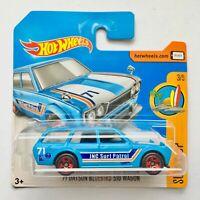 """Hot Wheels Datsun Bluebird 510 Wagon 3/5 Surf's UP """"FBD29"""" Mattel Car Brand NEW"""