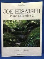 Joe Hisaishi Piano Collection 2 Solo Sheet Music Japan Book