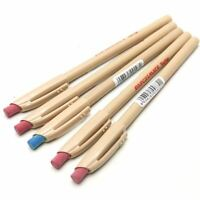 5 x PaperMate Replay Erasable Ballpoint Pens - (4 x Red, 1 x Blue)
