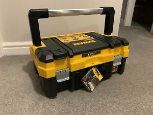 DEWALT TSTAK 1 T-Stak I - case with large handle and Removable Inlay - BNWT