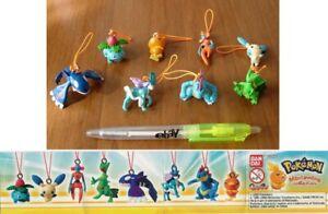 Set 8 Figurine Pokemon Swing Mini Collection Pendante BANDAI Gashapon Blastoise