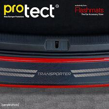 VW T5 Transporter Rear Bumper Protector (04-14) Black Carbon Vinyl Protector