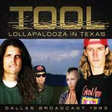 LOLLAPALOOZA IN TEXAS  by TOOL  Compact Disc  SUCD121 rare live show