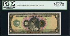 "American Bank Note Company ""10"" Unit SPECIMEN Series 1929 PCGS Gem New 65 PPQ"
