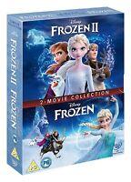 Frozen & Frozen 2 Set (UK IMPORT New DVD, Region 2) Usually ships in 12 hours!