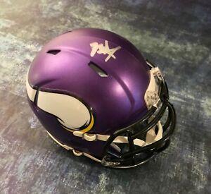 GFA Minnesota Vikings RC Quarterback KELLEN MOND Signed Mini Helmet K3 COA