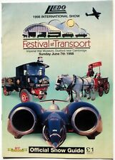 Land Speed Record, Thrust SSC: Lledo Festival of Transport 1998 Show Guide