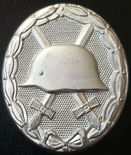 ✚8279✚ German Wound Badge SILVER post WW2 1957 pattern Verwundetenabz DEUMER