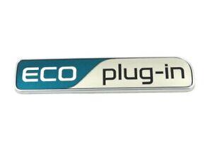 Genuine New KIA ECO PLUG-IN BOOT BADGE Rear Emblem For Optima 2017+