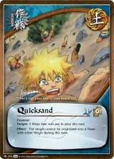 3x Quicksand - M-793 - Common Foil NM Naruto Weapons of War