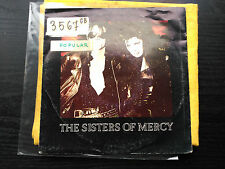 7'' PROMO THE SISTERS OF MERCY - THIS CORROSION - WEA SPAIN 1987 VG/VG+
