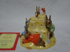 ROYAL DOULTON BUNNYKINS FIGURE - DB228 SANDCASTLE MONEY BOX