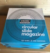 Gnome Circular Slide Magazine x 2 in Boxes No Slides Rotary Carousel